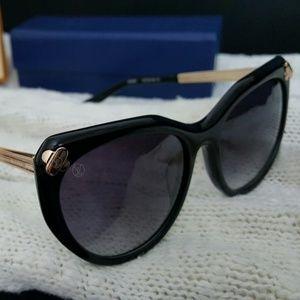 Louis Vuitton Emmanuelle Black Sunglasses